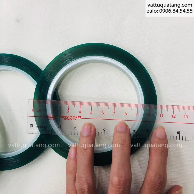 Băng keo chịu nhiệt rộng 1cm