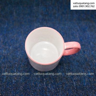 Ly sứ quai hồng – in chuyển nhiệt