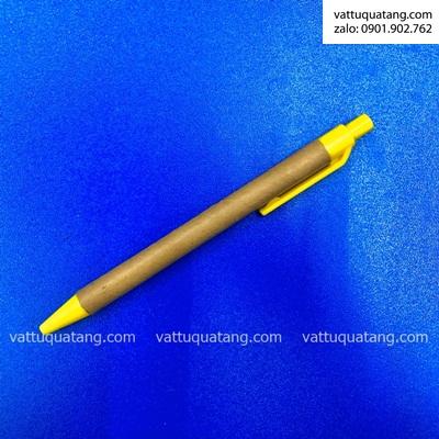 Phôi bút bi giấy eco giá rẻ màu vàng