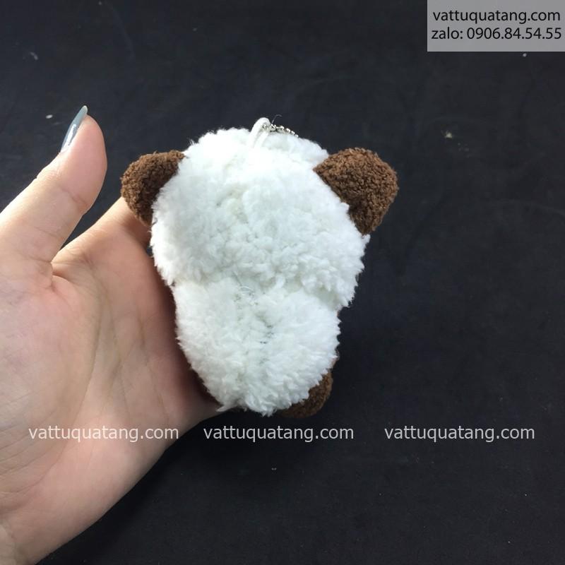 Phôi gấu bông in hình 3D cừu nhỏ 10cm