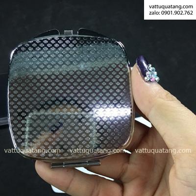 Phôi hộp gương soi vuông – in chuyển nhiệt 2D