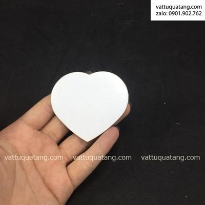 Phôi hộp gương soi trái tim – in chuyển nhiệt 2D